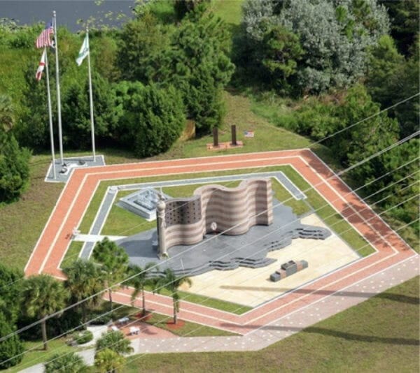 Freedom Memorial Rendering - Hole Montes